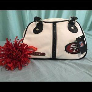NWT Genuine San Francisco 49ers mini purse.